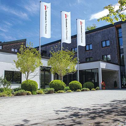 Centrum für Prävention in Bernried Haupteingang